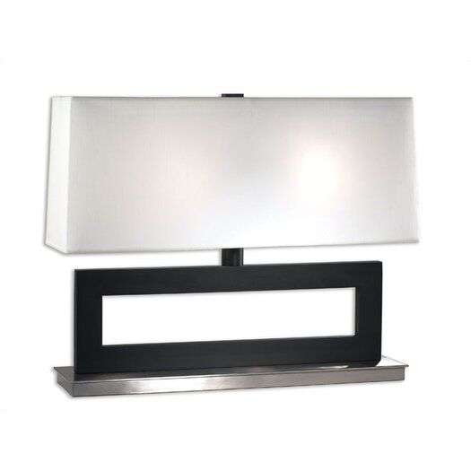 """Sonneman Otto Low 23"""" H Table Lamp with Rectangular Shade"""