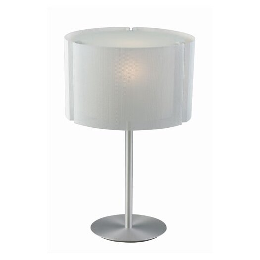 """Sonneman Oscuro 25.5"""" H Table Lamp with Drum Shade"""
