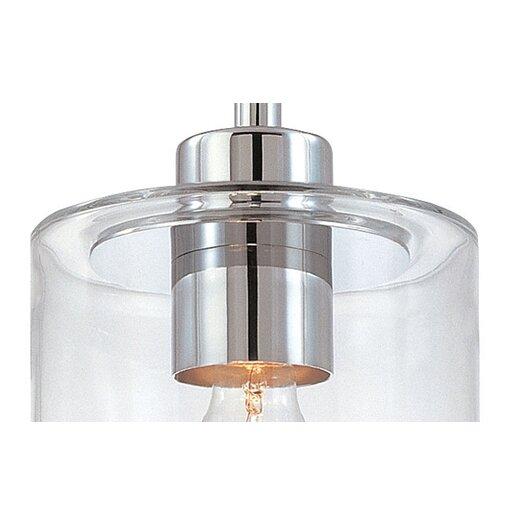 Sonneman Transparence 1 Light Mini Pendant