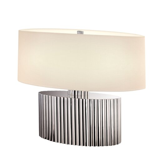 """Sonneman Paramount 17.5"""" H Table Lamp with Oval Shade"""