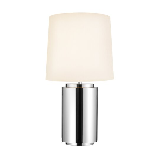 """Sonneman Mirror 29"""" H Table Lamp with Empire Shade"""