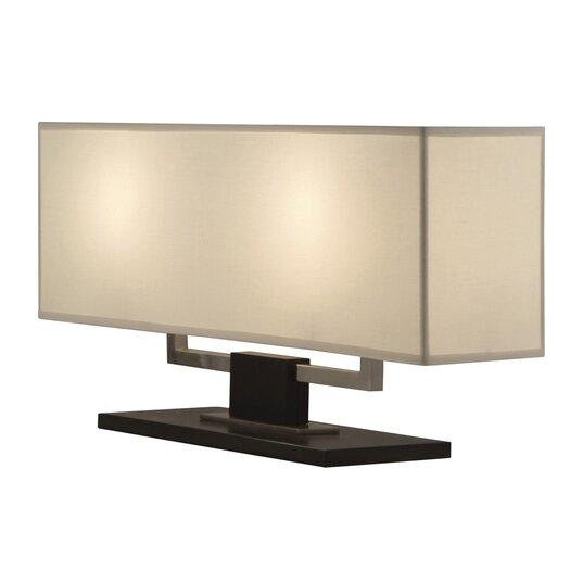 "Sonneman Hanover Bankette 12.5"" H Table Lamp with Rectangular Shade"