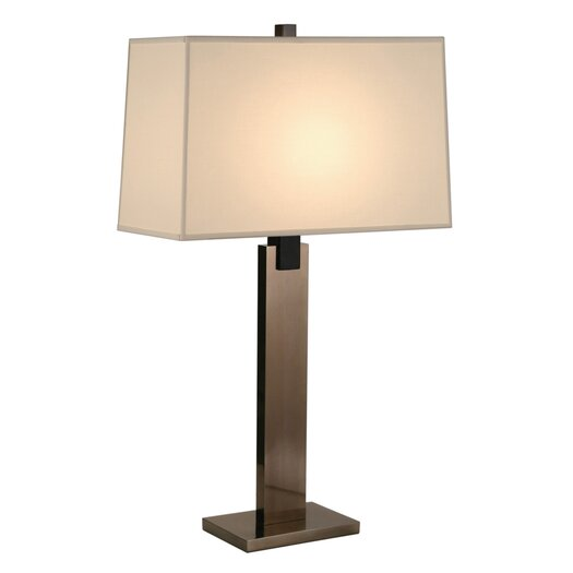 "Sonneman Monolith 30"" H Table Lamp with Rectangular Shade"