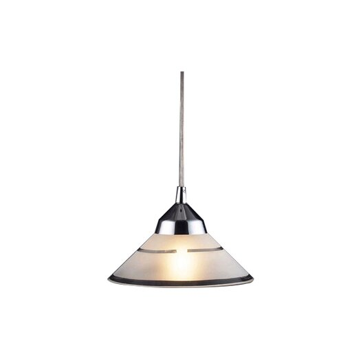Elk Lighting Refraction 1 Light Mini Pendant II