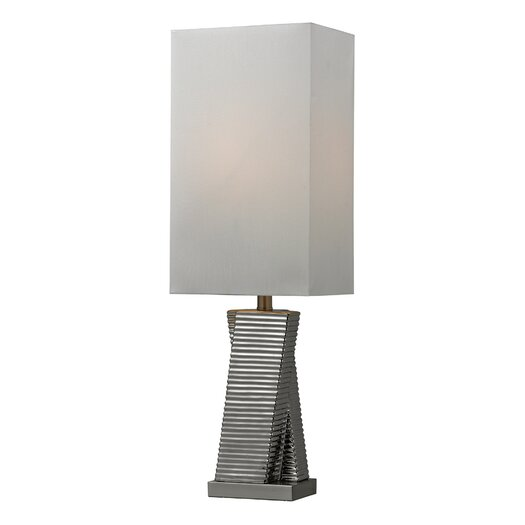 "Elk Lighting Graphic Control 30"" H Table Lamp with Rectangular Shade"