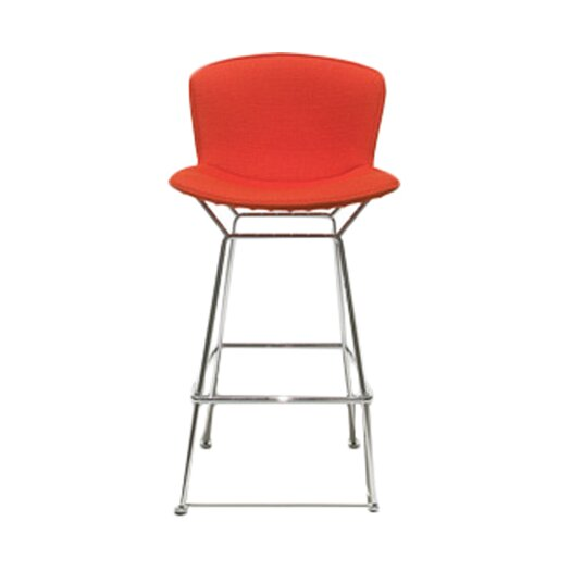 "Knoll ® Bertoia 27.5"" Bar Stool with Cushion"