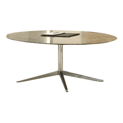 Knoll ® Florence Knoll Dining Table in Polished Chrome