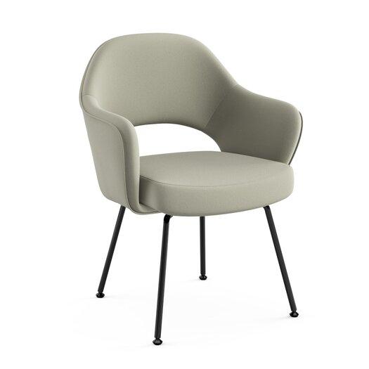 Knoll ® Saarinen Executive Arm Chair with Tubular Leg