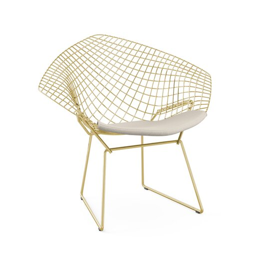 The Harry Bertoia Diamond Chair