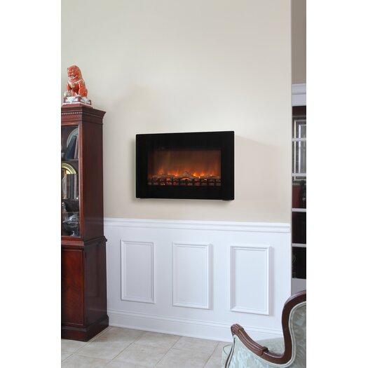 Hearth Sense Fireplace: Fire Sense Wall Mounted Electric Fireplace