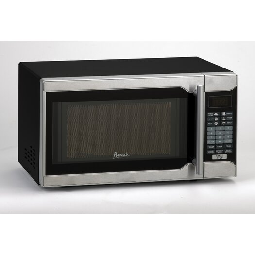 Avanti Products 0.7 Cu. Ft. 700W Countertop Microwave in Black
