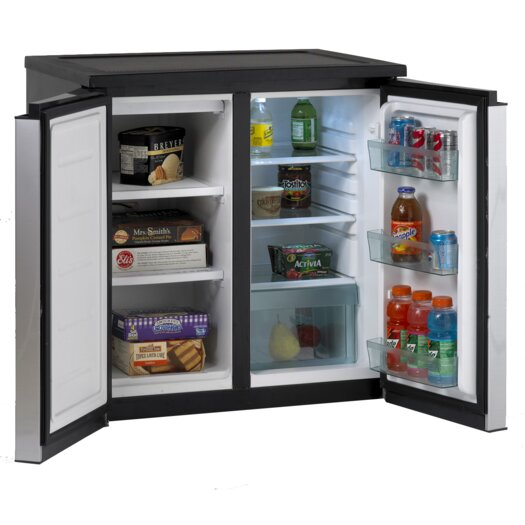 Avanti Products 5.5 cu. ft. Compact Refrigerator with Freezer