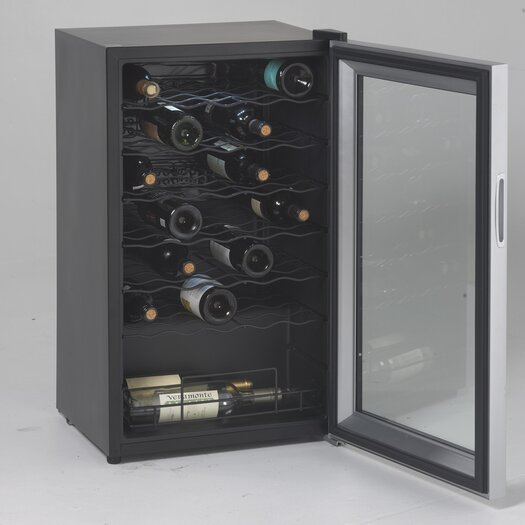 Avanti Products 34 Bottle Single Zone Freestanding Wine Refrigerator