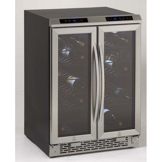 Avanti Products 19 Bottle Dual Zone Wine Refrigerator