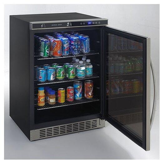 Avanti Products 4.8 cu. ft. Undercounter Beverage Center with Glass Door