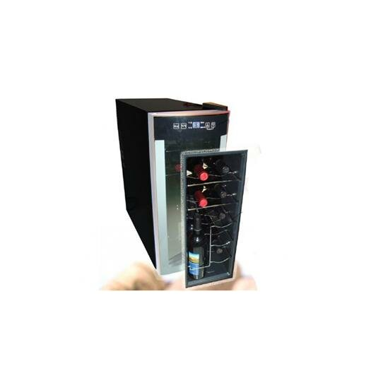 Avanti Products 12 Bottle Single Zone Freestanding Wine Refrigerator