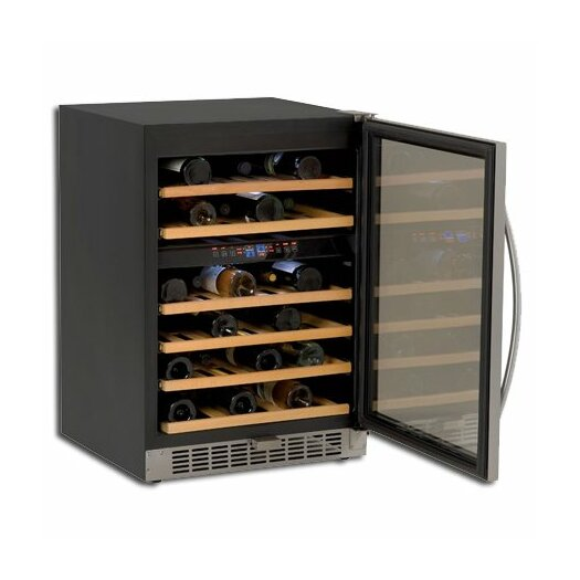 Avanti Products 46 Bottle Dual Zone Freestanding Wine Refrigerator