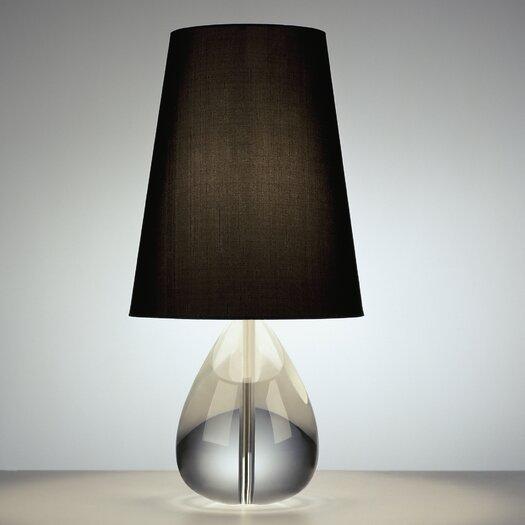 "Robert Abbey Claridge Teardrop 20"" H Table Lamp with Empire Shade"
