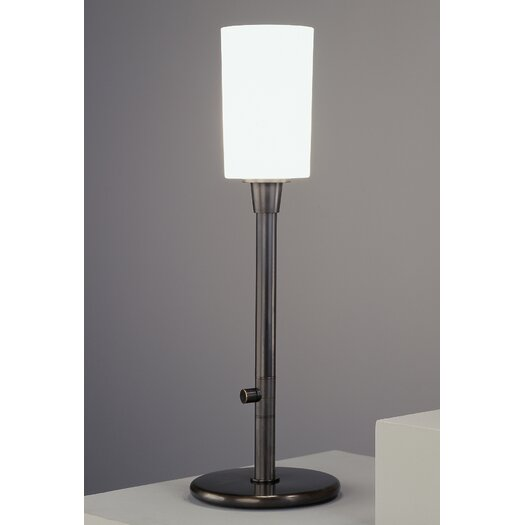 """Robert Abbey Nina Rico Espinet Torchiere 26.5"""" H Table Lamp with Drum Shade"""