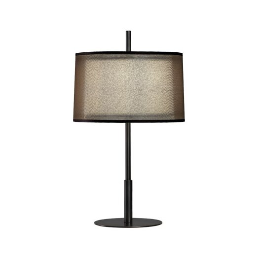 """Robert Abbey Saturnia 22.75"""" H Table Lamp withEmpire Shade"""