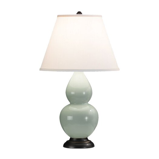 """Robert Abbey Double Gourd Small 22.75"""" H Table Lamp with Empire Shade"""