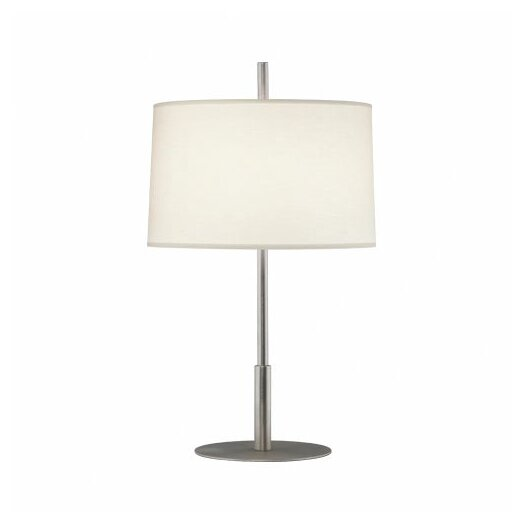 """Robert Abbey Echo 22.75"""" H Table Lamp with Oval Shade"""