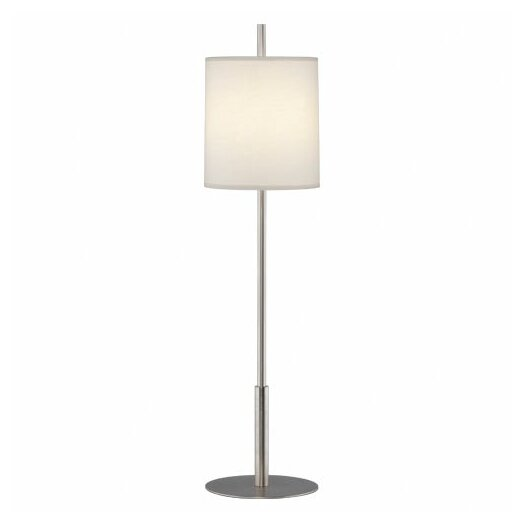 "Robert Abbey Echo 32.5"" H Buffet Table Lamp with Oval Shade"