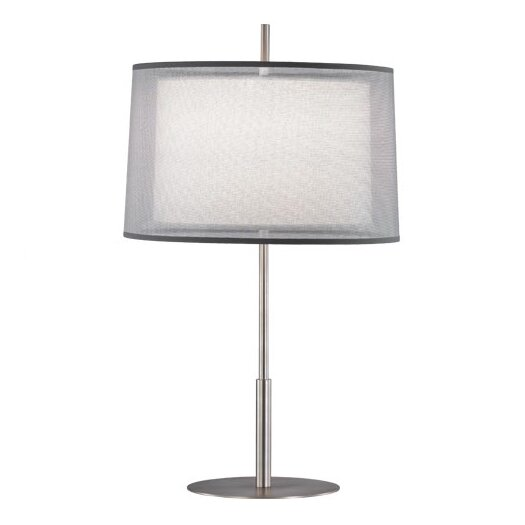 """Robert Abbey Saturnia 22.75"""" H Table Lamp with Empire Shade"""
