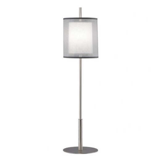 "Robert Abbey Saturnia Buffet 32.5"" H Table Lamp with Drum Shade"