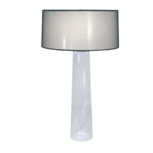 """Robert Abbey Rico Espinet Olinda 34"""" H Table Lamp with Drum Shade"""