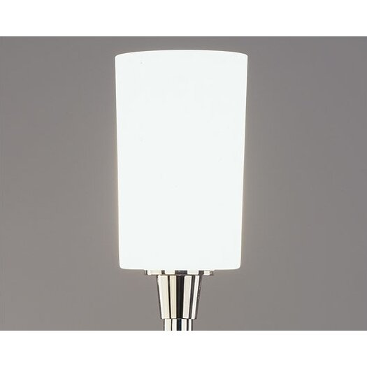 """Robert Abbey Nina Torchiere 26.5"""" H Table Lamp with Drum Shade"""