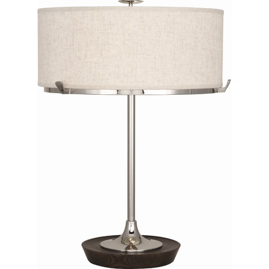 """Robert Abbey Edwin 21"""" H Table Lamp with Drum Shade"""