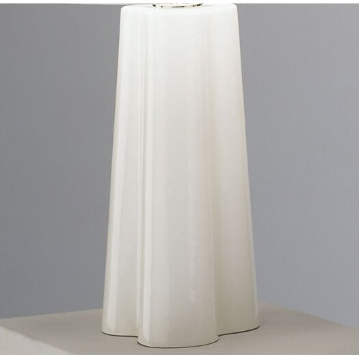"""Robert Abbey Wavy 26.5"""" H Table Lamp with Empire Shade"""