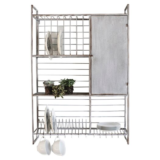 Creative Co Op Country Kitchen Wall Rack