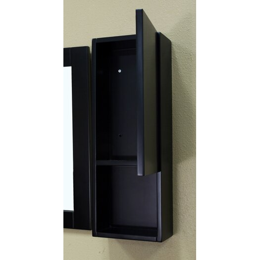 "Bellaterra Home Payne 8.7"" x 23.6"" Surface Mounted Medicine Cabinet"
