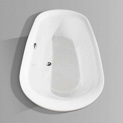 "Wyndham Collection Melissa 65"" x 31.25"" Soaking Bathtub"