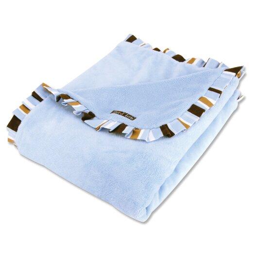 Trend Lab Max Velour Baby Blanket