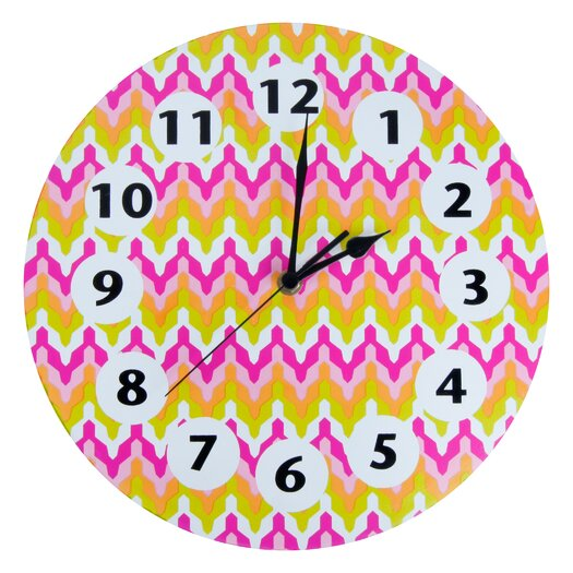 "Trend Lab Savannah 11"" Wall Clock"