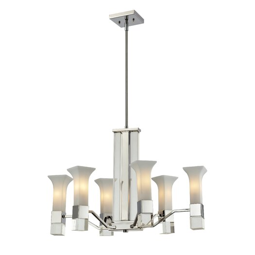 Z-Lite Lotus 6 Light Chandelier