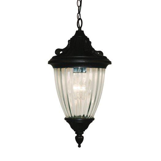 Z-Lite Waterloo 3 Light Outdoor Hanging Lantern