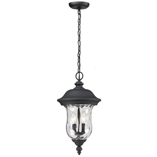 Z-Lite Armstrong 2 Light Outdoor Hanging Pendant