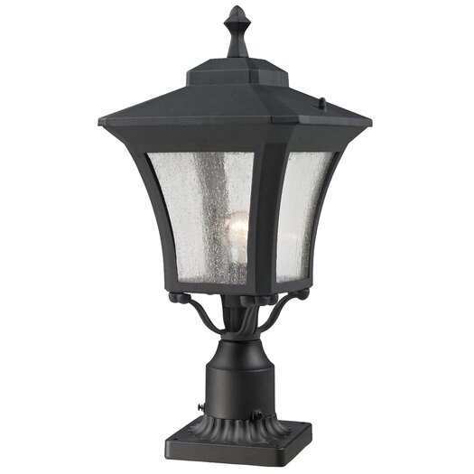 "Z-Lite Waterdown 1 Light 25.5"" Outdoor Post Lantern Set"