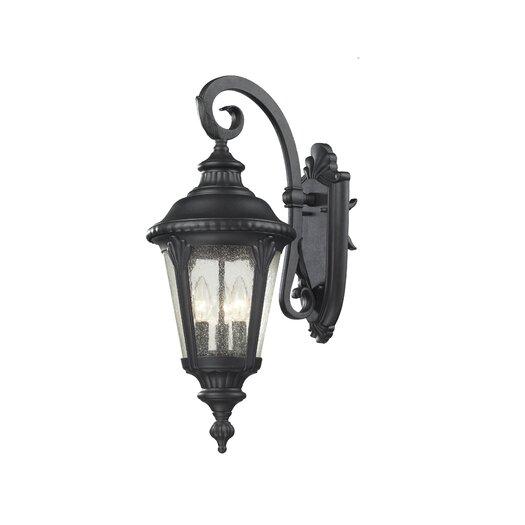 Z-Lite Medow 3 Light Wall Lantern