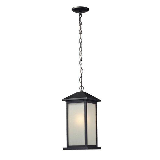 Z-Lite Vienna 1 Light Outdoor Hanging Lantern