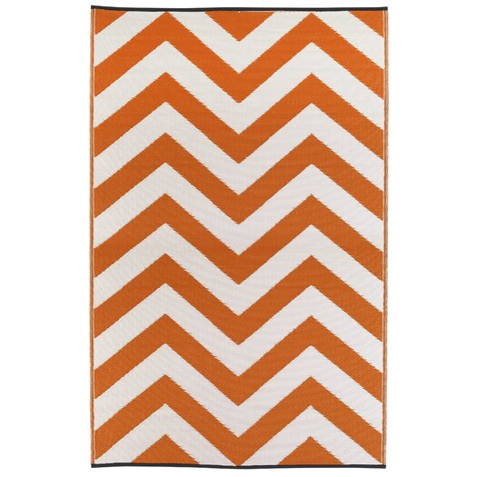 Fab Rugs Laguna Orange Peel World Indoor/Outdoor Area Rug