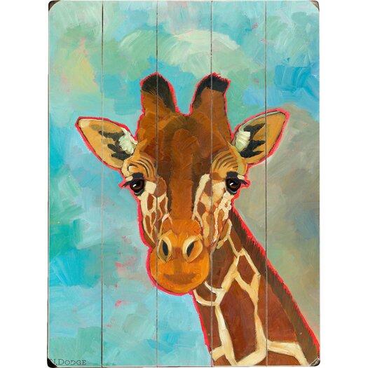 Artehouse LLC Giraffe Wood Sign