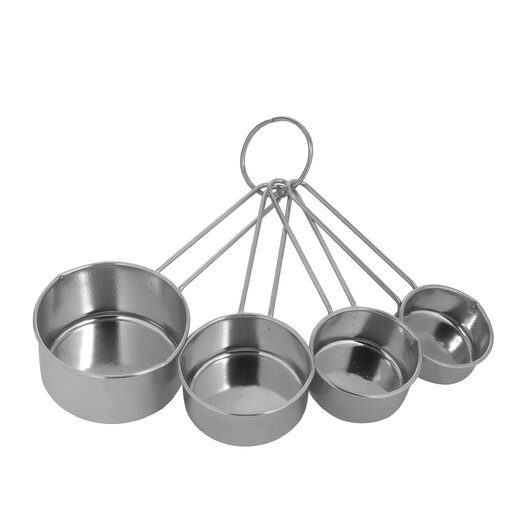 EKCO 4 Piece Stainless Steel Measuring Cup Set