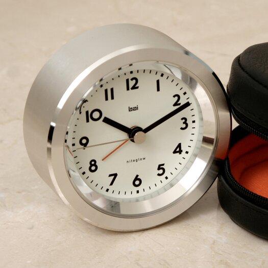 Bai Design Landmark Astor Aluminium Travel Alarm Clock