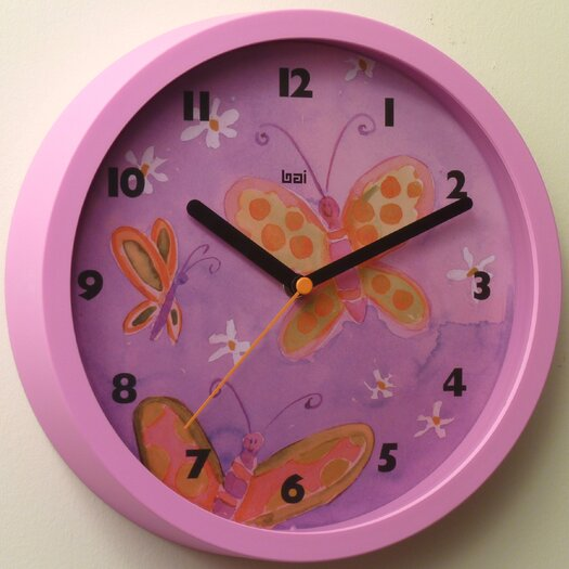 "Bai Design 10"" Children's Wall Clock"