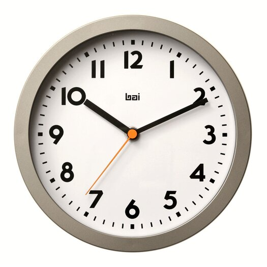 "Bai Design 8"" Landmark Studio Wall Clock"
